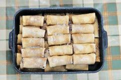 Frozen pancakes. Stock Photo