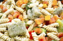 Frozen Pasta Stock Photo