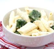 Frozen pasta Stock Photo