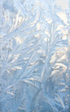 Frozen pattern Stock Photo