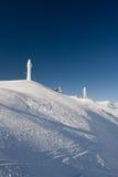 Frozen peaks Stock Image