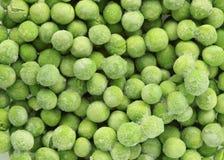Frozen peas Royalty Free Stock Photos