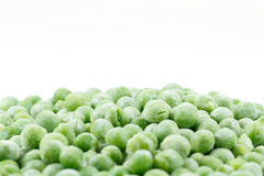 Frozen peas Stock Images
