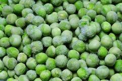 Frozen peas Stock Photo