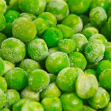 Frozen peas background Stock Image