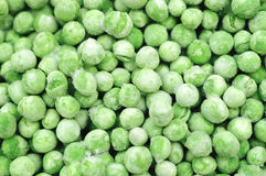Frozen Peas Close Up Royalty Free Stock Photography