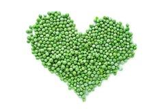 Frozen peas  Stock Photos