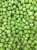 Frozen peas Stock Photography