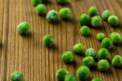 Frozen peas Royalty Free Stock Image
