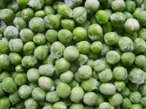 Frozen peas. Peas green color food agriculture fresh texture photo stock Royalty Free Stock Photos