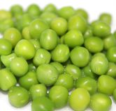 Frozen peas Royalty Free Stock Photos