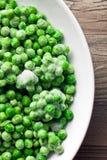 Frozen peas Stock Image