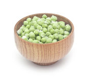 Frozen peas Stock Photo