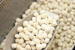 Frozen pelmeni Stock Photography
