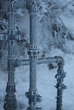 Frozen Pipes 2 Royalty Free Stock Photo