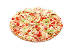 Frozen pizza Stock Image