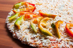 Frozen pizza Royalty Free Stock Images