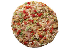 Frozen pizza stock images