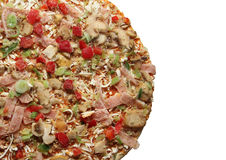Frozen pizza Stock Photography
