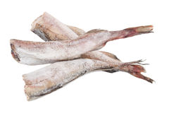 Frozen pollock Stock Photo