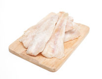 Frozen pollock (pallock) Stock Photos