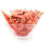 Frozen prawn Stock Photography