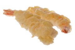 Frozen Prawns Tempura Isolated Stock Photography