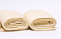 Frozen puff pastry. Stock Photography