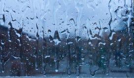 Frozen Rain Drops Royalty Free Stock Photography