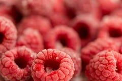 Frozen raspberries Royalty Free Stock Images