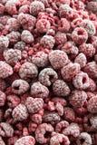 Frozen Raspberries Royalty Free Stock Photos