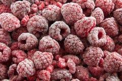 Frozen Raspberries Royalty Free Stock Photo
