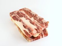 Frozen raw meat Royalty Free Stock Images