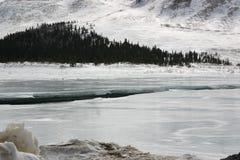 Frozen River Stock Image