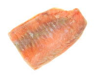 Frozen salmon fillet Royalty Free Stock Images