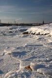 Frozen sea Stock Image