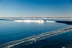 Frozen sea Royalty Free Stock Photography