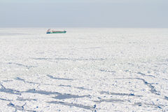 Frozen sea Stock Photos