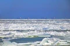 Frozen sea Royalty Free Stock Photos