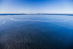Frozen sea Royalty Free Stock Image