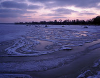 Frozen sea Royalty Free Stock Photo
