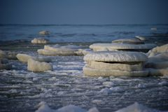 Frozen sea Royalty Free Stock Photo