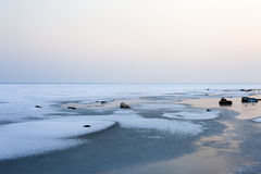 Frozen sea Stock Images