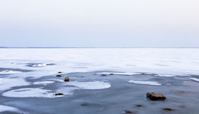 Frozen sea Royalty Free Stock Images