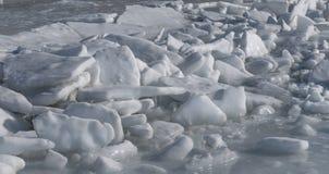 Frozen sea. Royalty Free Stock Photography