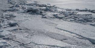 Frozen sea. Royalty Free Stock Image