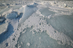 Frozen sea. Stock Photography