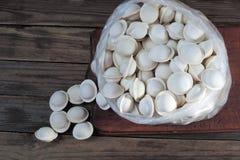 Frozen semi-prepared foods Stock Images