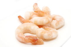 Frozen shrimp Stock Photos
