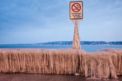 Frozen Sign Royalty Free Stock Image